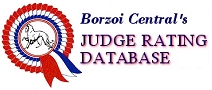 Borzoi Central's Judge Rating Database
